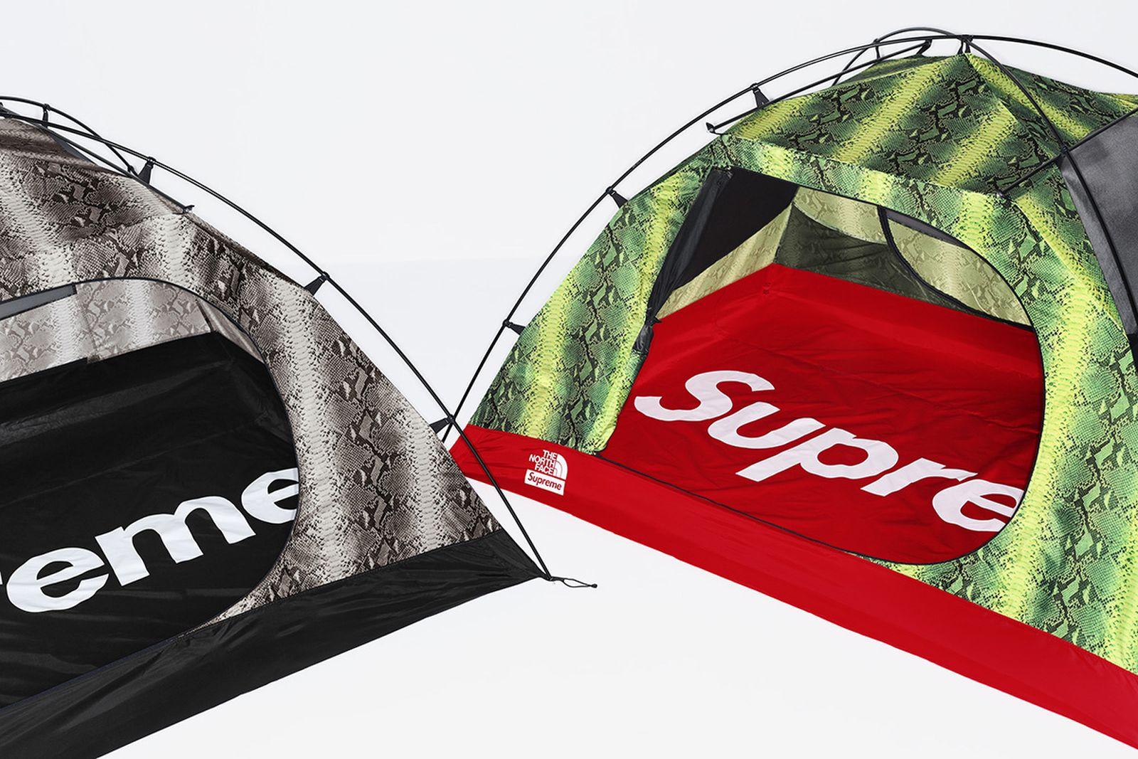 supreme the north face tent