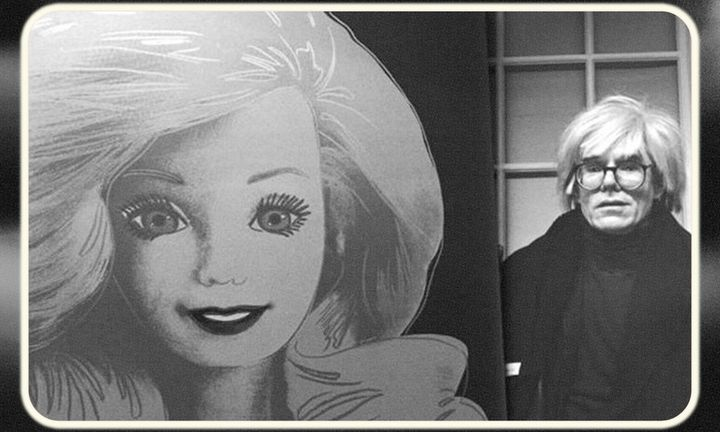 Barbie and Andy Warhol