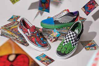 914cb68f02acfe Vans x Marvel Sneaker Pack  Release Date
