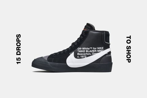OFF-WHITE Nike Blazer Mid & More Best Products to Drop This Week
