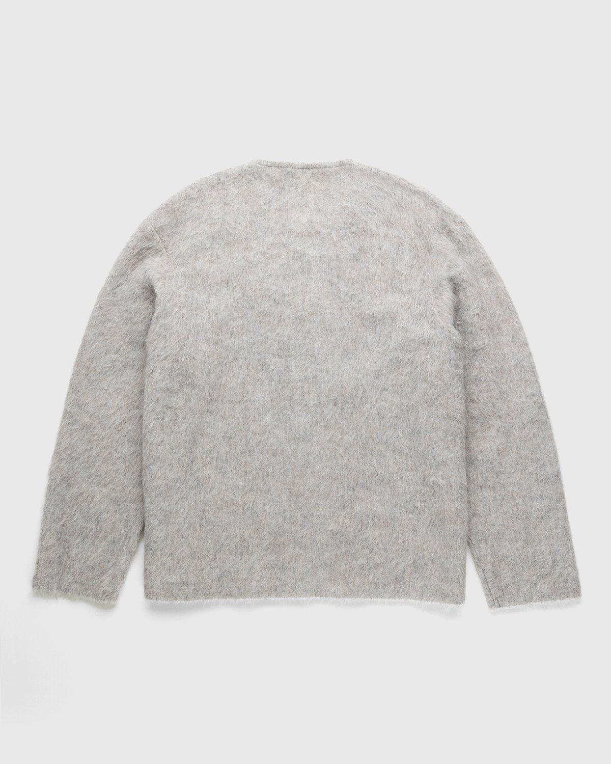 Our Legacy - Double Lock Sweater Grey Alpaca - Image 2