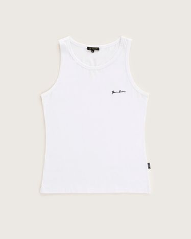 Versace Tank Top White