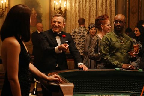 "Daniel Craig during the ""James Bond Scene"" sketch on Saturday Night Live"