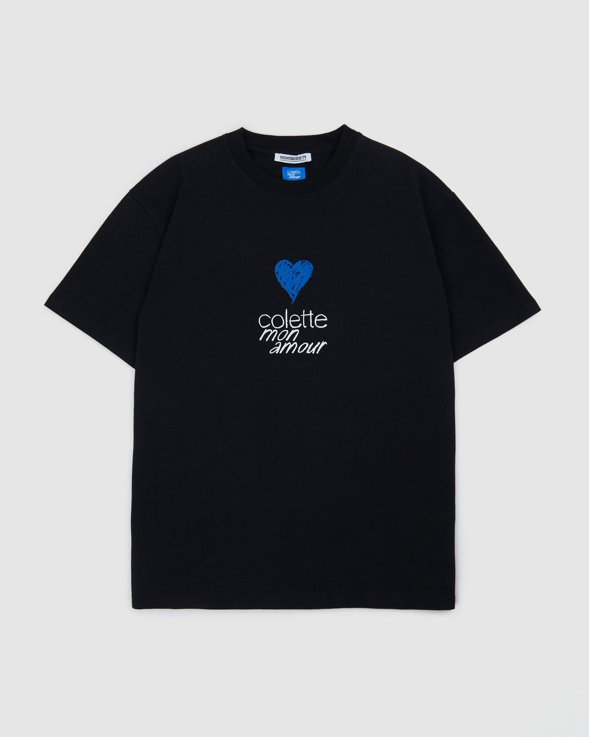Colette Mon Amour - Heart T-Shirt Black - Image 1