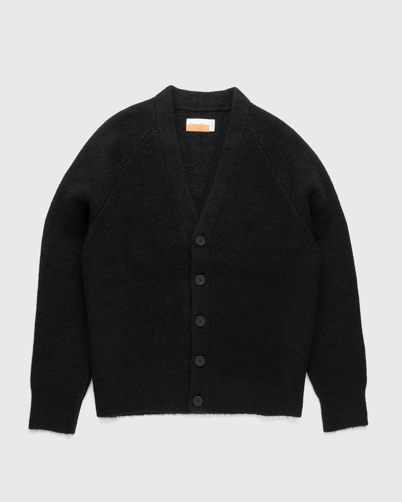 Heron Preston for Calvin Klein - Mens Oversized Cardigan Black