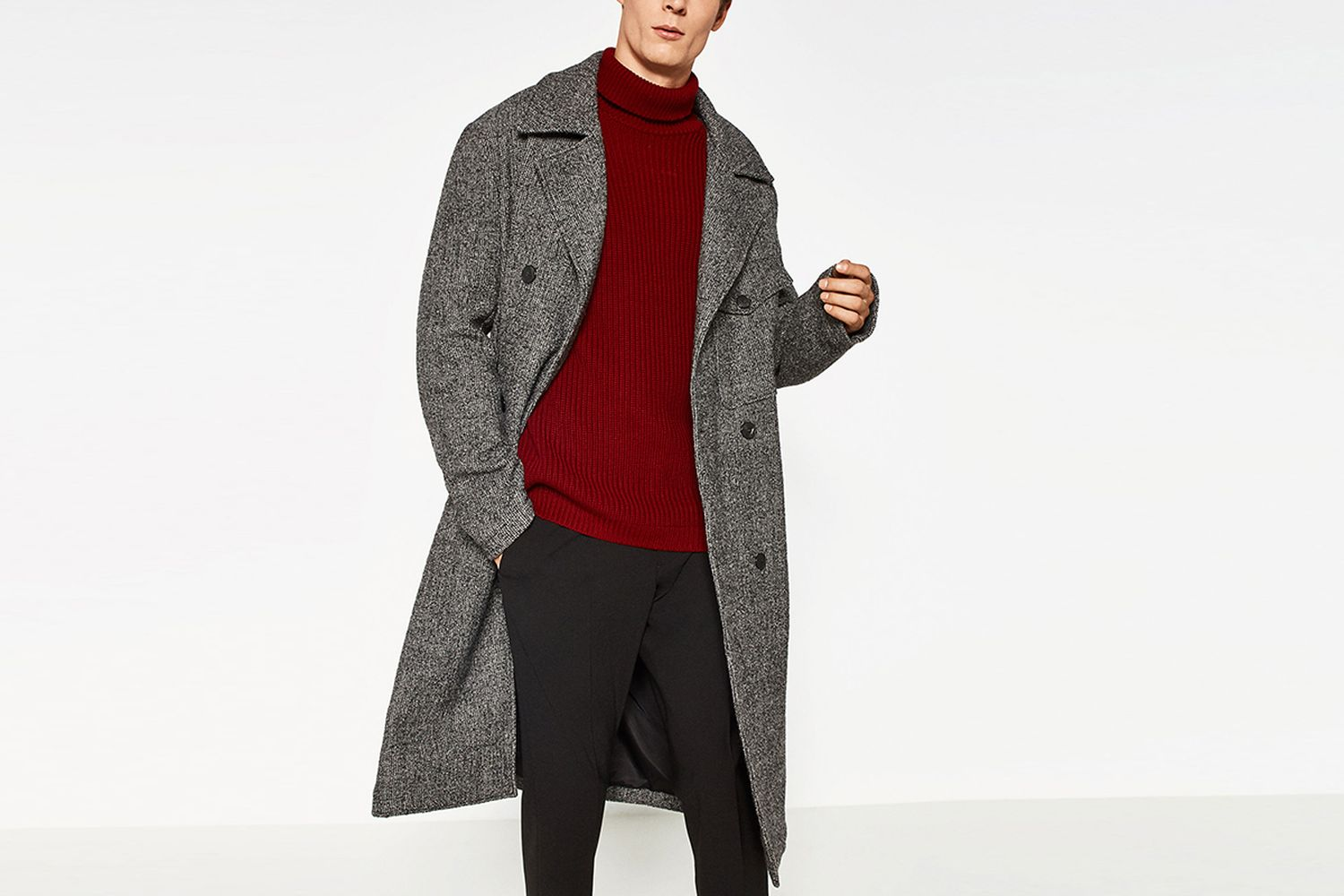 Coat With Pocket