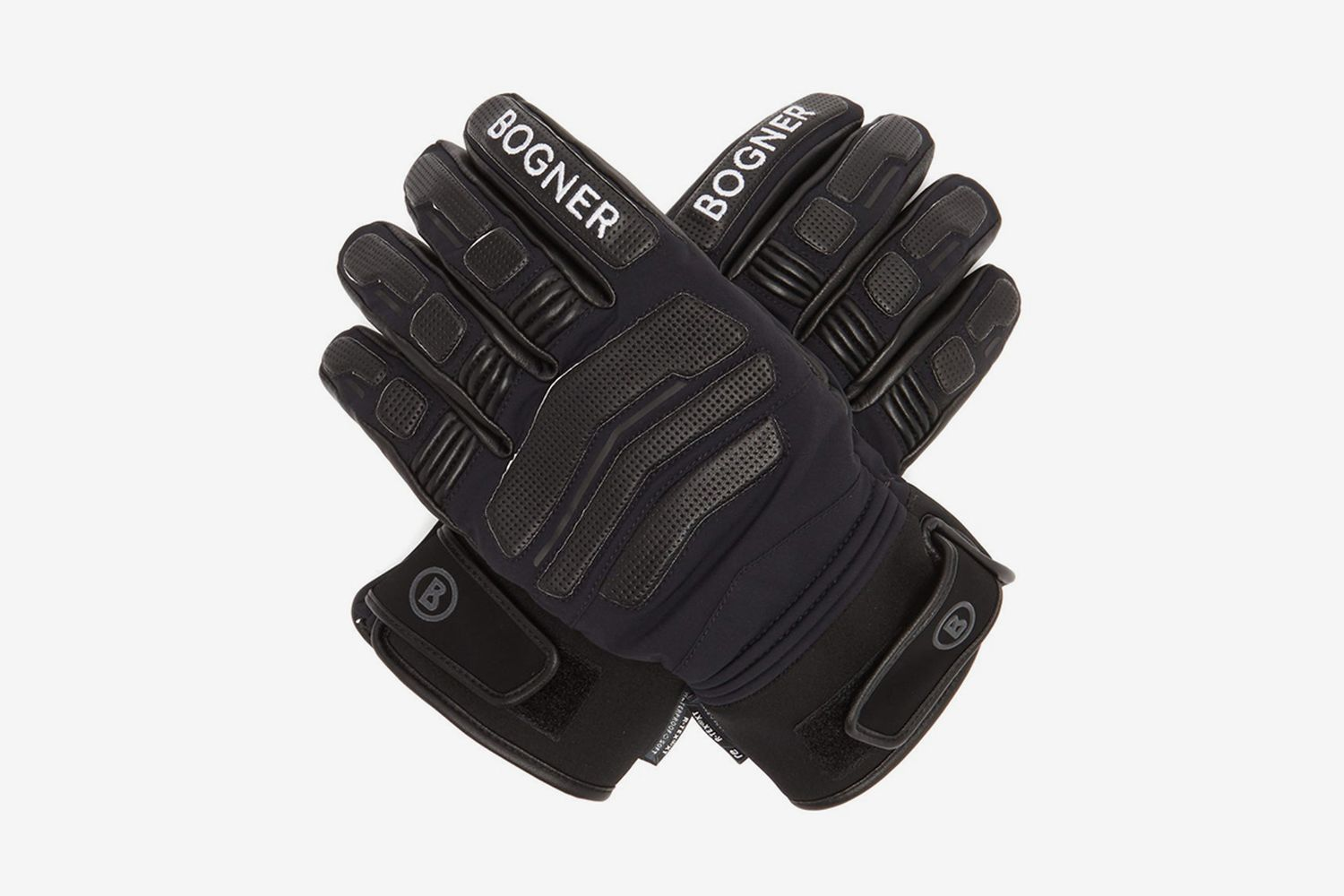 Agimo Faux Shearling-Lined Leather Ski Gloves