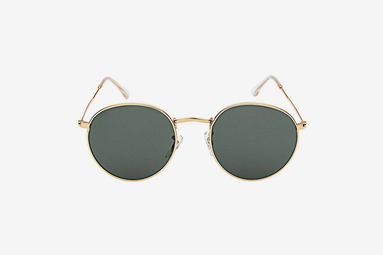 Classic Metal Frame Sunglasses