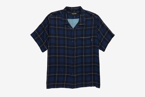 Velzy Plaid Camp Shirt