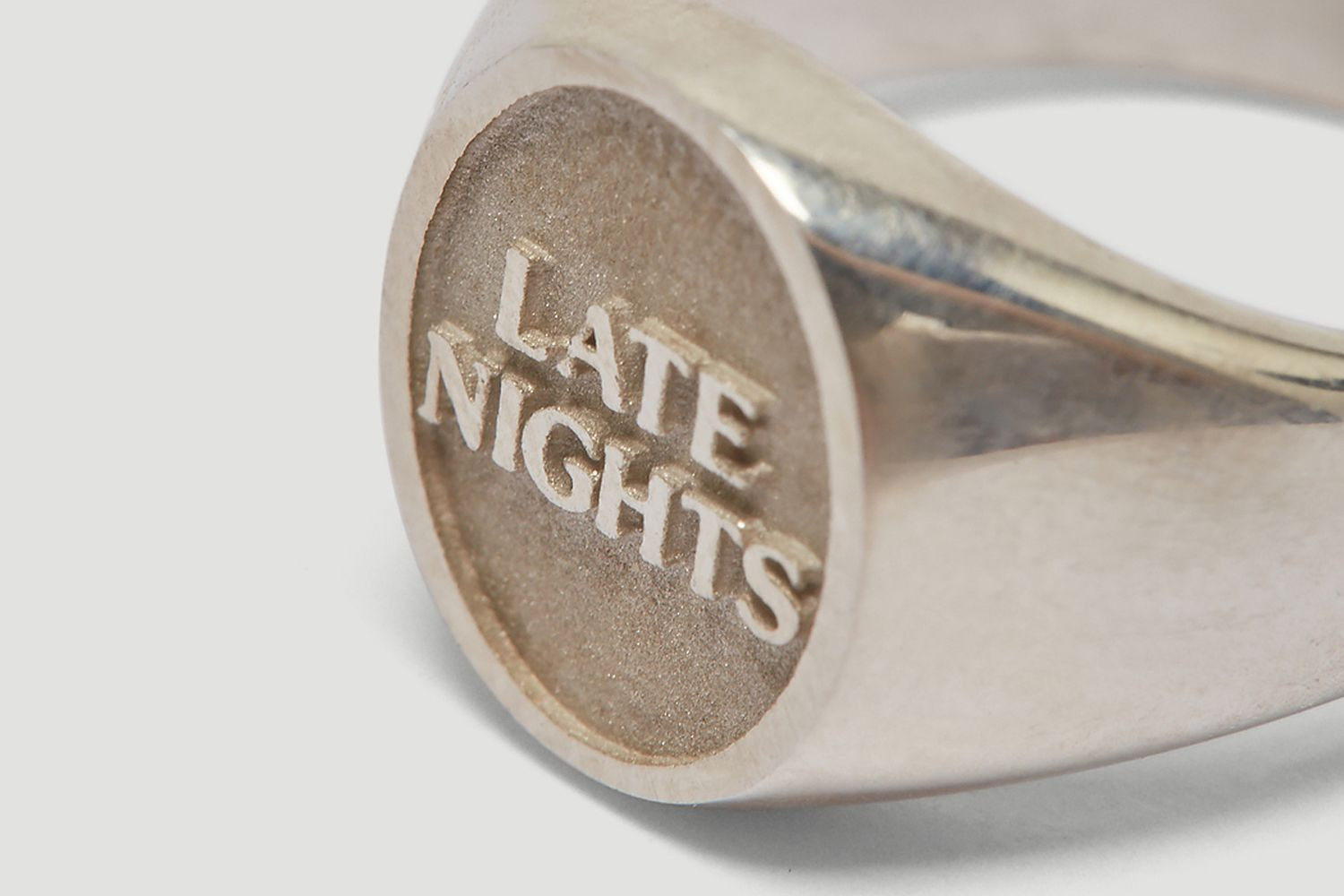 Late Nights Signet Ring