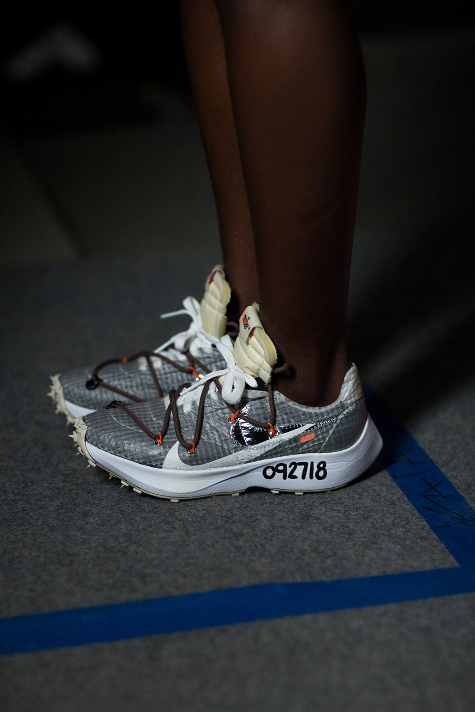 off white pfw ss19 footwear closer look Nike OFF-WHITE c/o Virgil Abloh Paris Fashion Week SS19