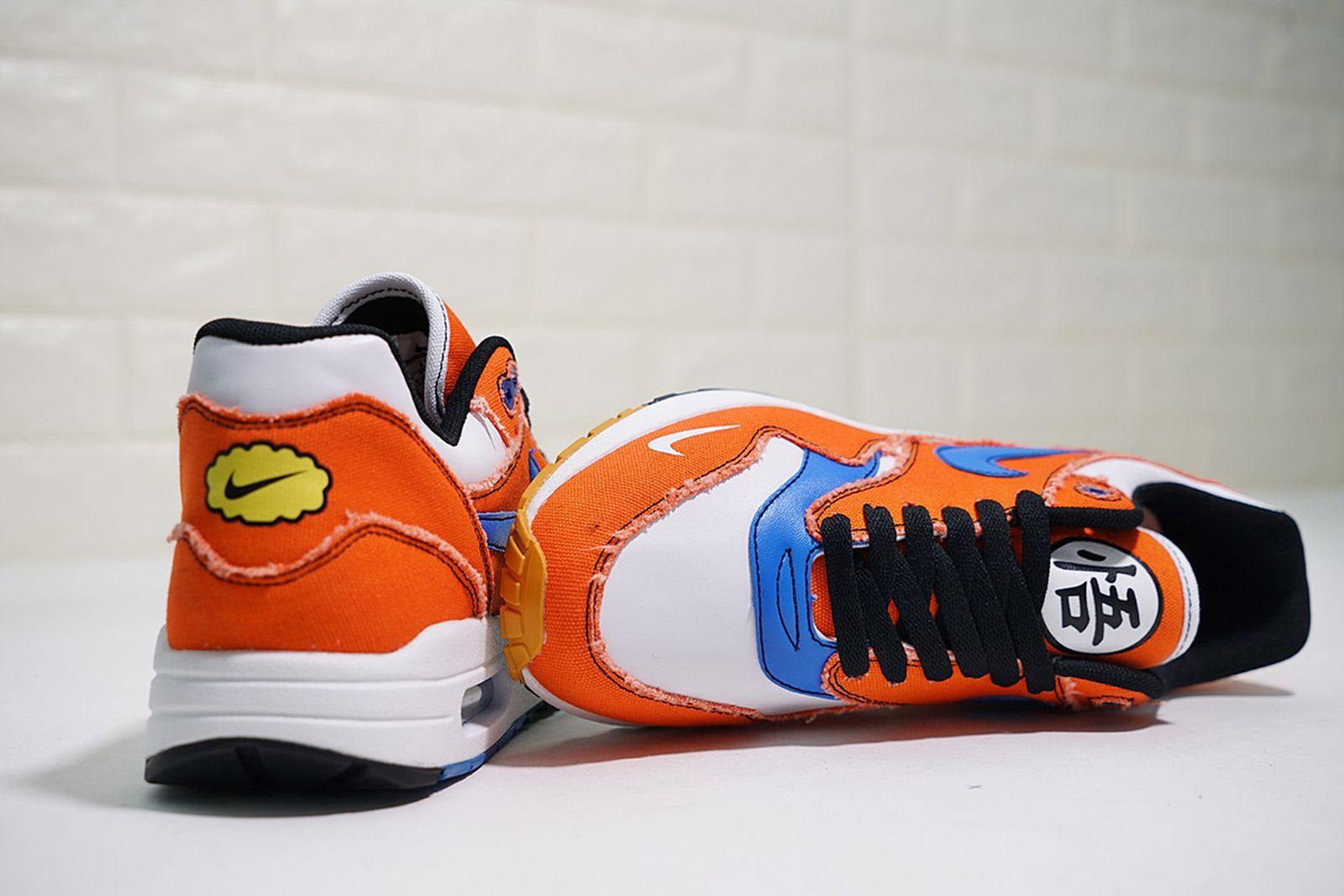 nike air max 1 goku custom closer look Adidas Custom Sneakers