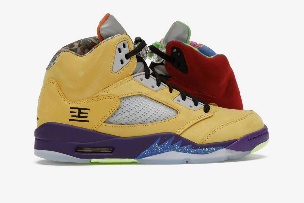 nike air jordan 5 what the
