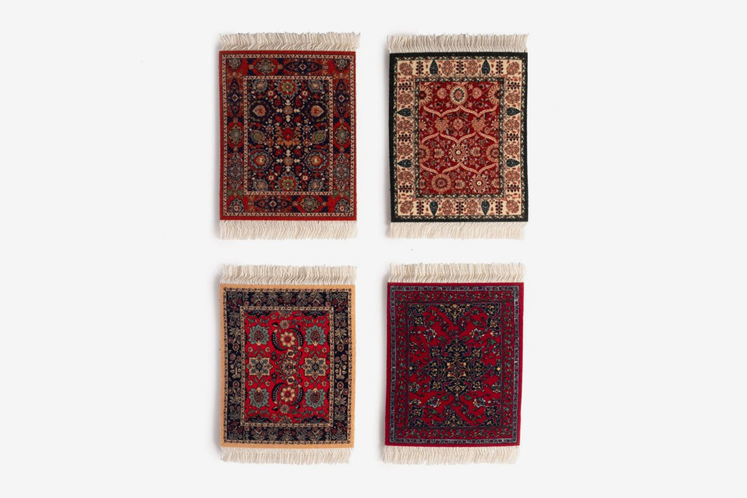 Coaster Rug Assorted Designs Set
