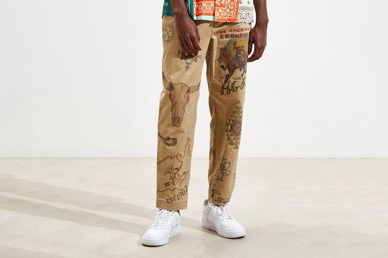 Printed Khaki Pant