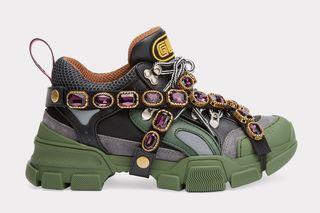 98cf65fb5f1 Gucci SEGA Crystal Sneaker  Release Date