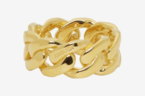 Gold Chain 3 Ring