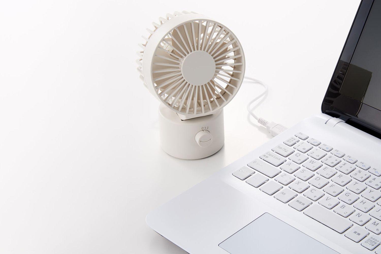 USB Desk Fan Swing