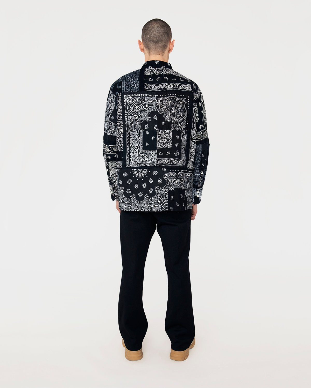 Miyagihidetaka Bandana Shirt Black - Image 6