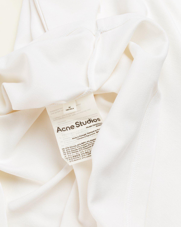 Acne Studios – Logo T-Shirt White - Image 4