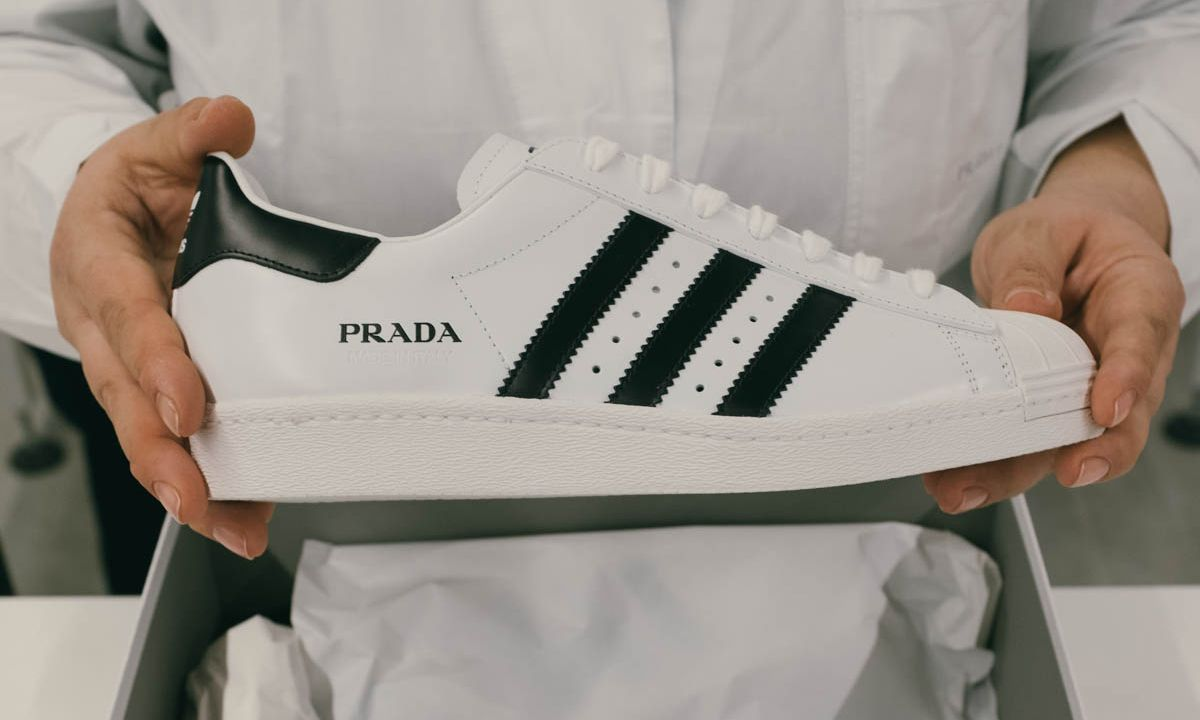 Norteamérica Palacio Meloso  Why the Prada x adidas Superstar Costs $500 & We're Not Mad At It