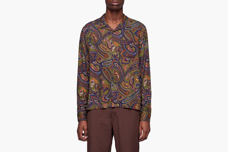 Cypress Paisley Long Sleeve Shirt