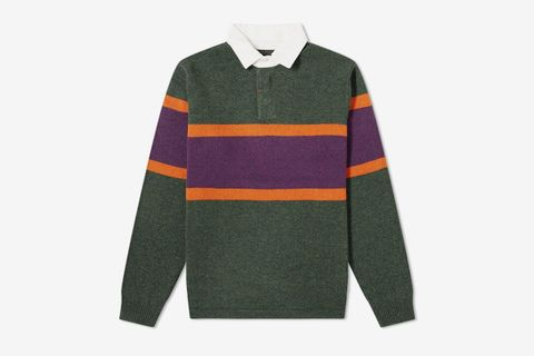 Knit Rugby Shirt