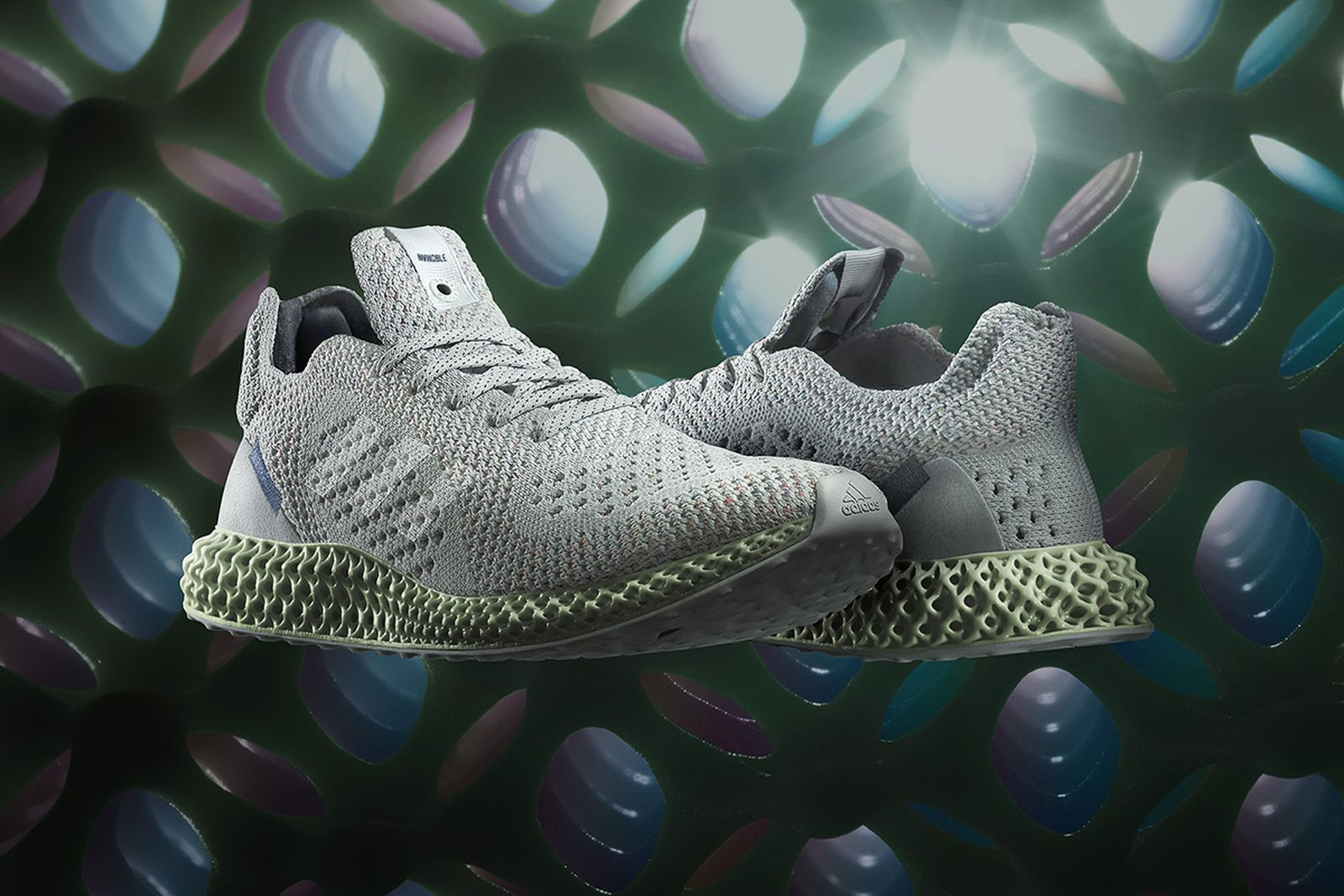 referir blusa diagonal  Invincible x adidas Consortium 4D: Release Date, Price, & More Info