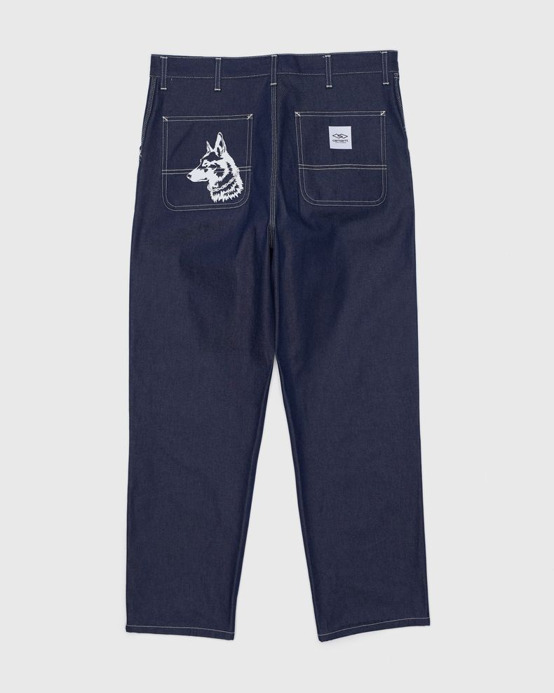 Carhartt WIP x Ljubav —  Simple Pant Blue