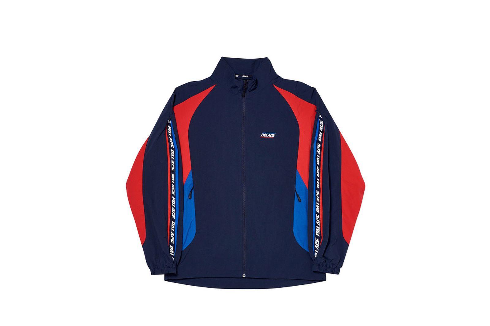 Palace 2019 Autumn Jacket revealer shell navy sleeve option
