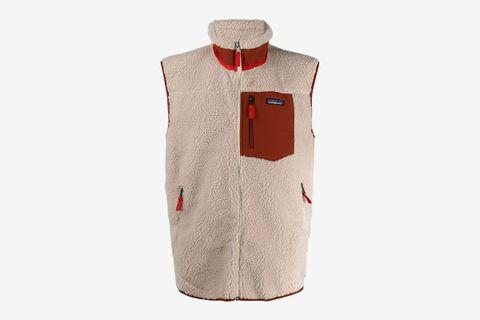Retro-X Fleece Shearling Vest