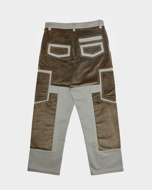 JACQUEMUS - Le Pantalon Bellu  Green - Image 2