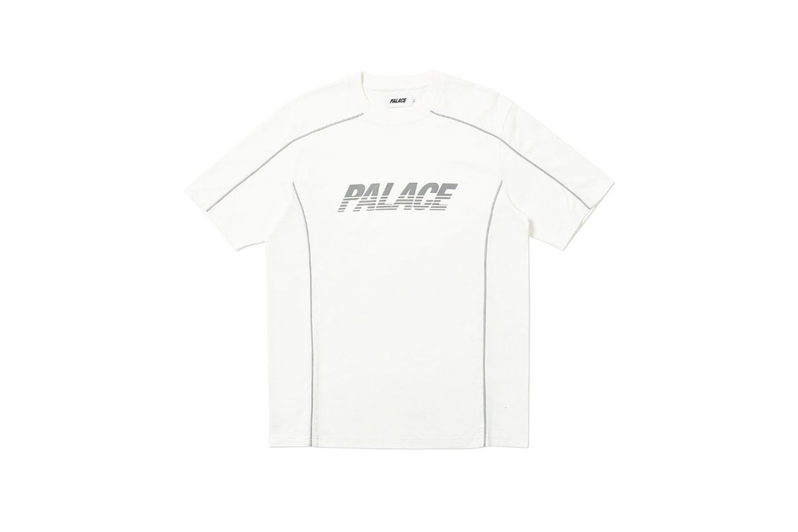Palace 2019 Autumn T Shirt Pimped white front fw19