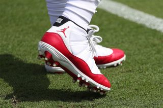 3b4e6cc637a Here s a First Look at Jordan s Jumpman NFL Cleats