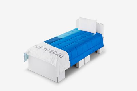 Tokyo 2020 Olympics cardboard bed