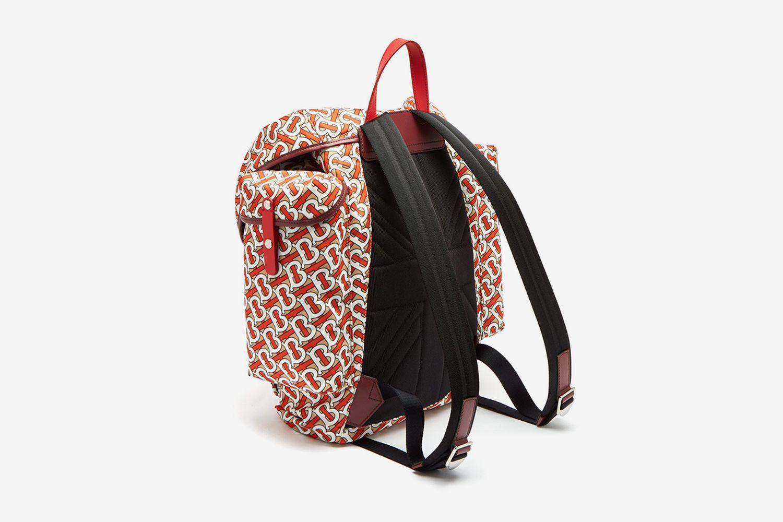 TB Monogram Backpack