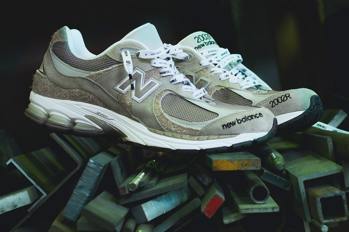 Invincible & N. Hoolywood Add Their Signature Spin to the New Balance 2002 3