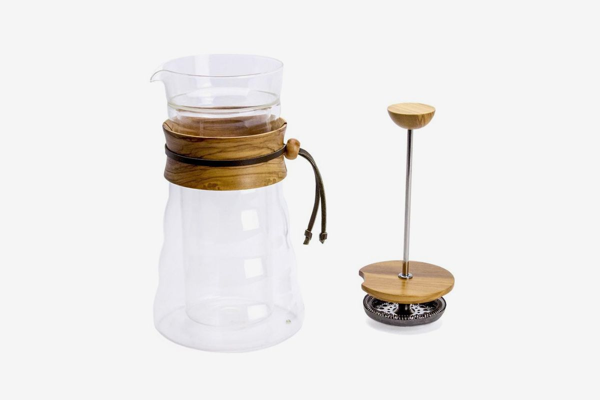 Double Wall Glass Coffee Press