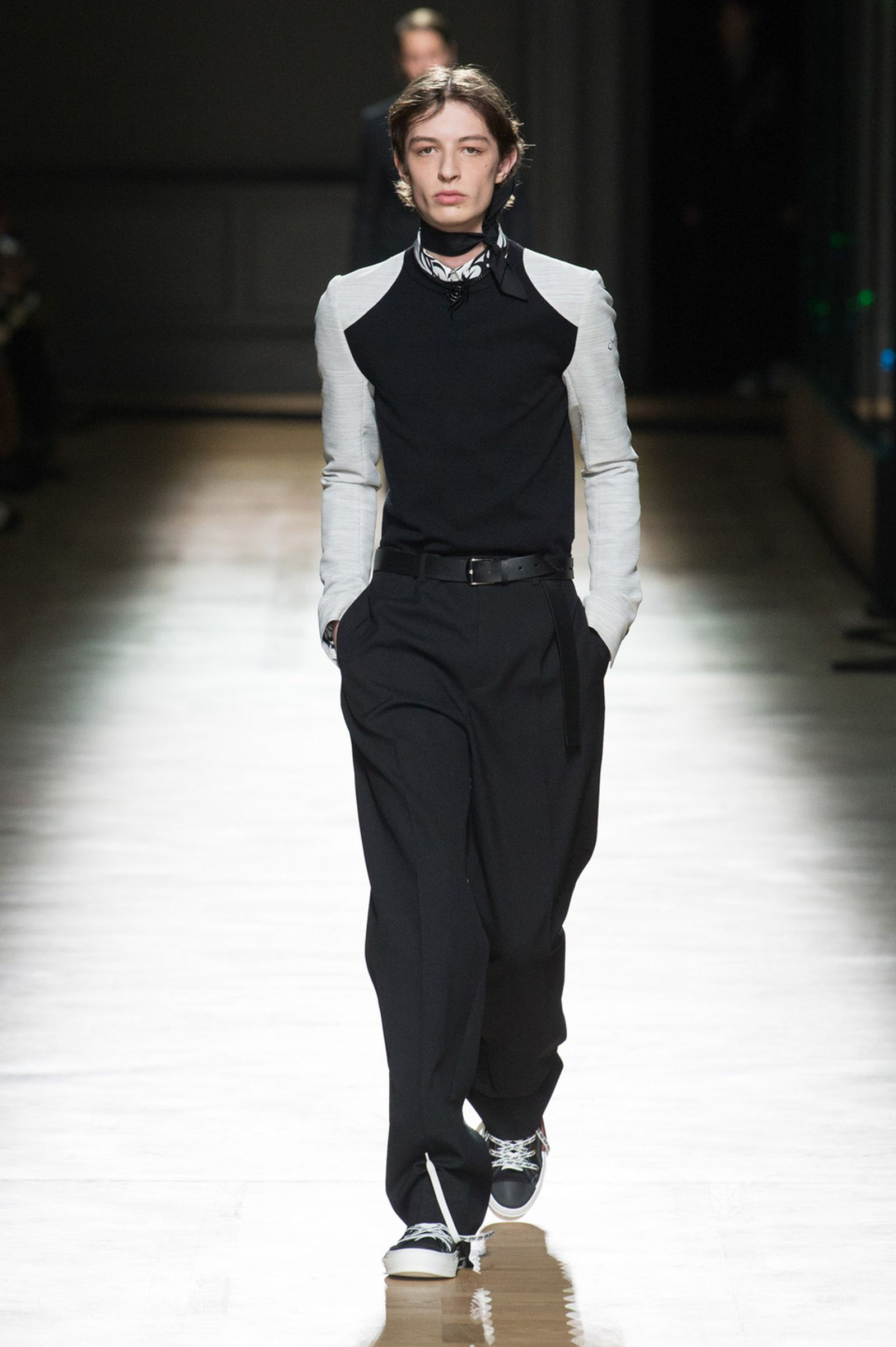 DIOR HOMME WINTER 18 19 BY PATRICE STABLE look08 Fall/WInter 2018 runway