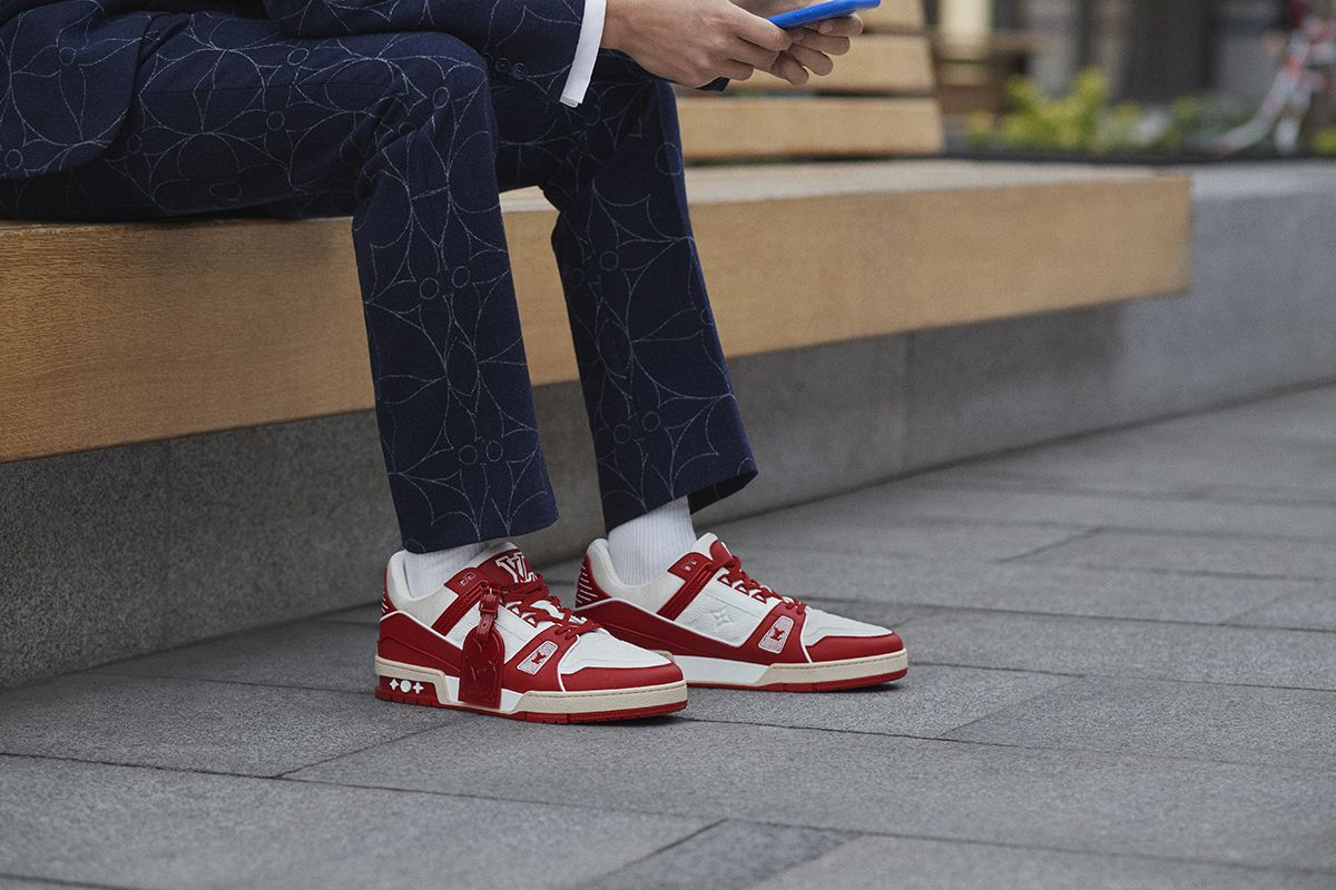 Louis Vuitton Joins the Fight to End AIDS With (RED) LV Trainer 9