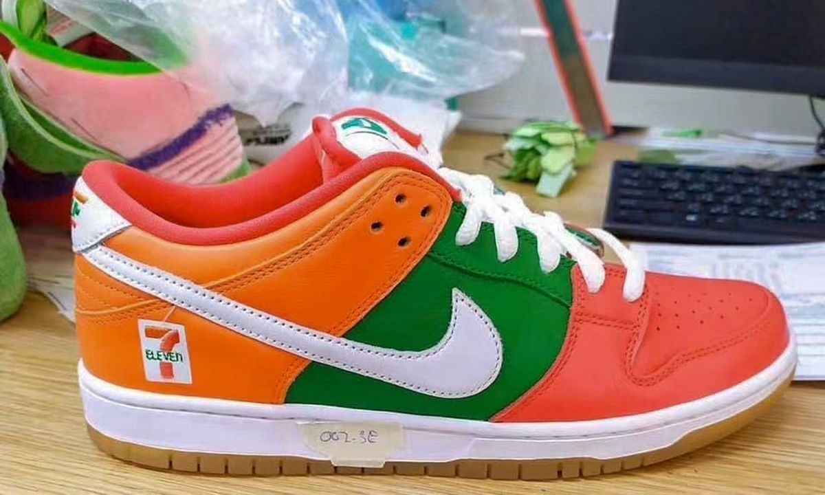 7 Eleven x Nike SB Dunk Low: Rumored First. Look & Release Info