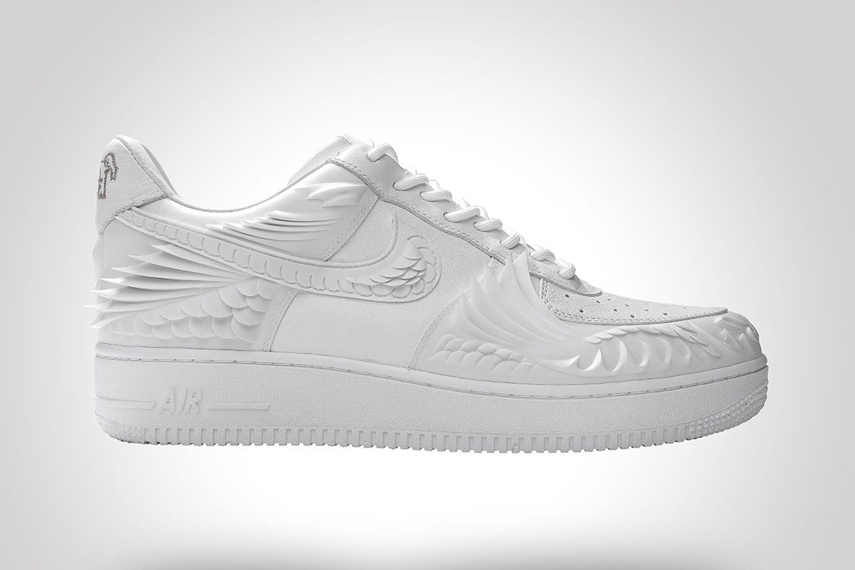 This Air Force 1 Has Been 3D-Molded to Look Like a Koi Fish