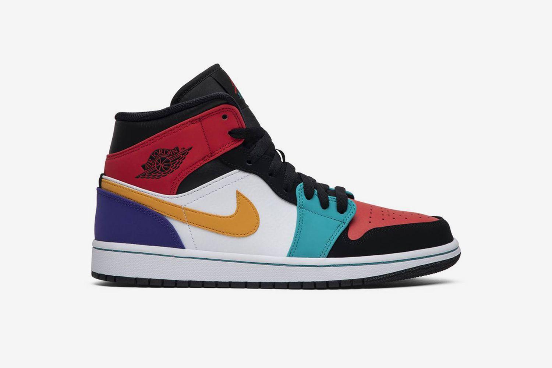 Air Jordan 1 Mid 'Multi-Color'