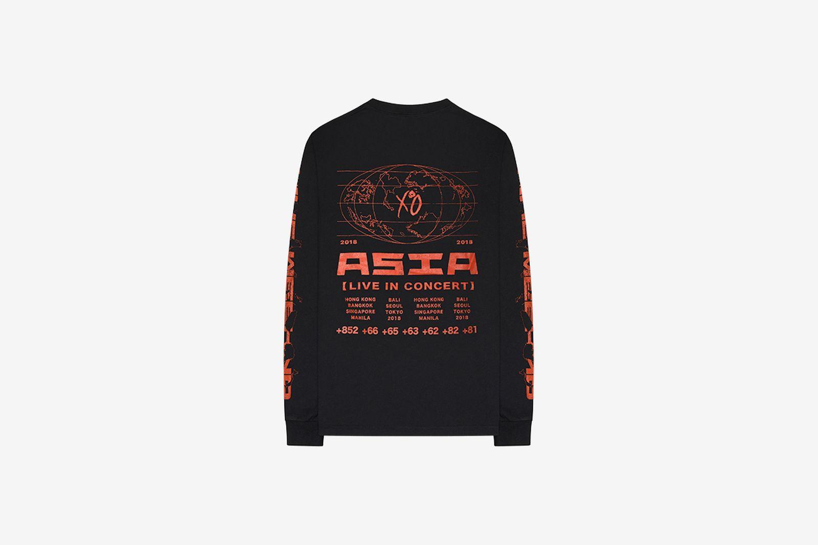 the weeknd asia tour merch 1 XO