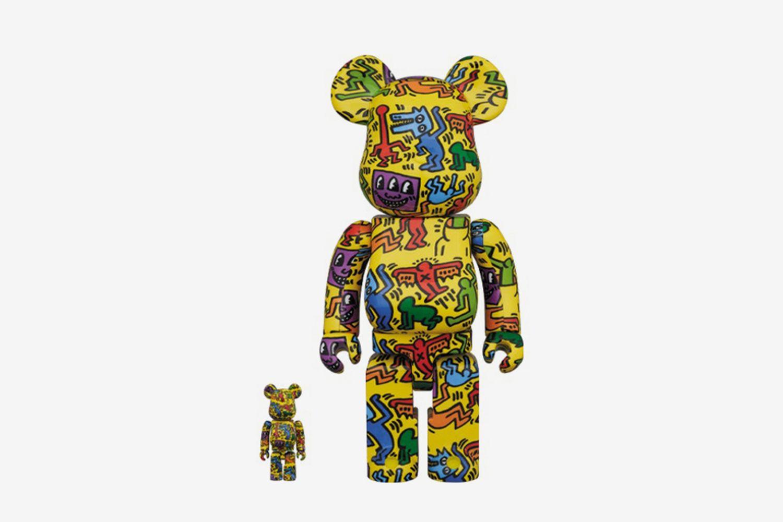Keith Haring #5 100% & 400% Set