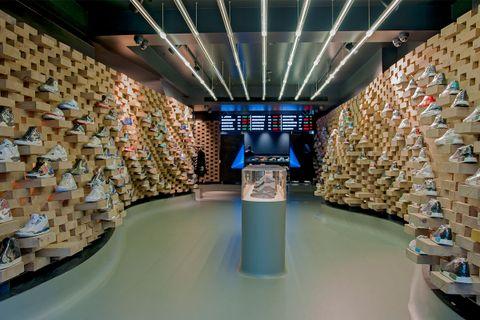 best london sneaker stores AMEX american express platinum sneakers