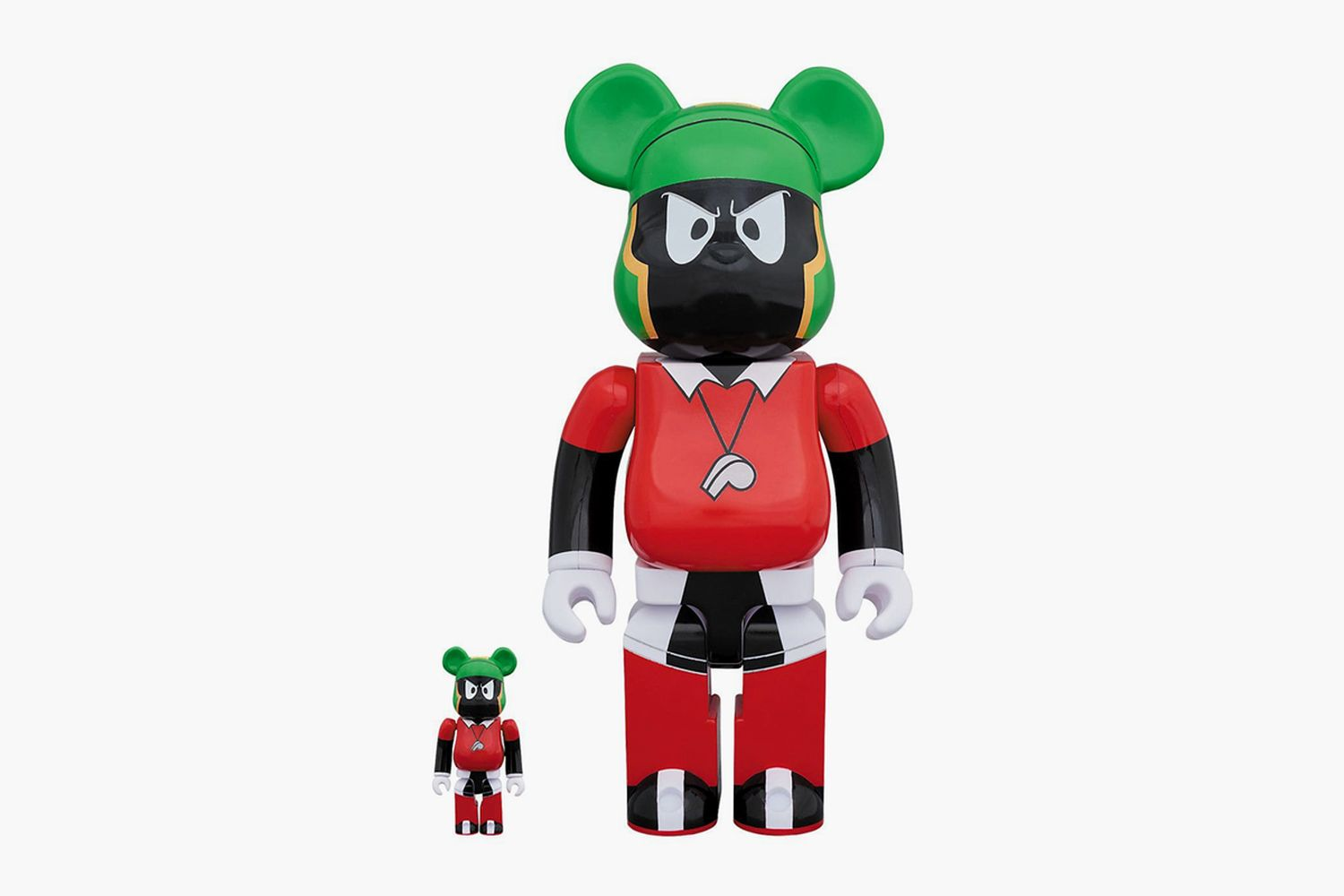 """Marvin The Martian"" 100% & 400% Be@rbricks"