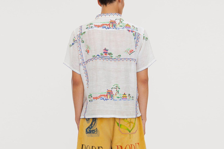 Sheer Oasis Bowling Shirt