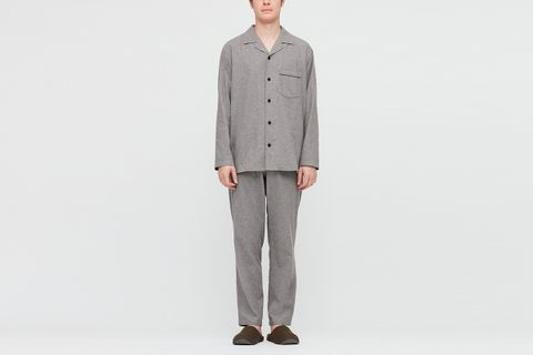 Flannel Long Sleeve Pajamas