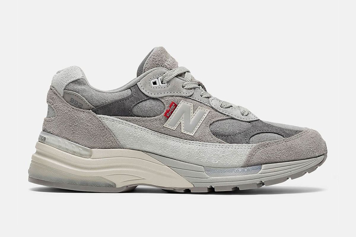 Levi's Pays Homage to New Balance's Iconic Grey on Latest Link Up 3